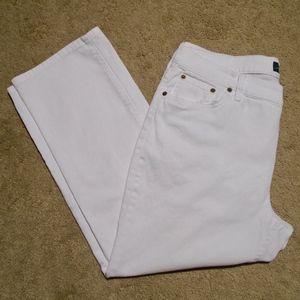 LRL Lauren Jean Co Classic Straight Ankle Jeans 14